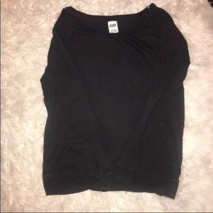 Victoria Secret Plain Black tee